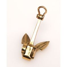 Decorative Brass Keychain – Marrel's Anchor Decorative Brass Keychain – Marrel's Anchor