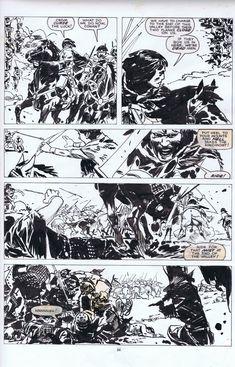 Zaffino Conan Comic Art