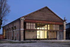 Auditorium Ex Squero - Venezia Foto di Matteo De Fina -  Per gentile concessione della Fondazione Giorgio Cini