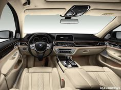 This is the new BMW 7 Series, a rolling temple to high-tech Bmw 750 Li, Supercars, Serie Bmw, 2017 Bmw 5 Series, Bmw Interior, Interior Design, 3 Bmw, Automobile, New Luxury Cars