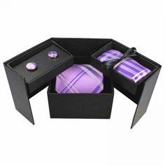 RBOCOTT Men's Classic Silk tie, Handkerchief, and Cufflinks Gift Box  Price: 21.56 & FREE Shipping  #mensclothing|#mensfashion|#mensgifts|#accessories
