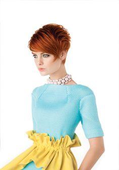 Tagli corti per capelli rossi perfetti per donne calienti!