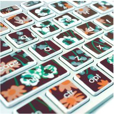 How to use decals to refurbish your laptop keyboard.