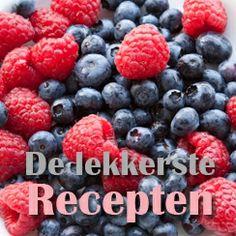 Op www.naturalgoodies.nl vind je de lekkerste Superfood recepten  #superfood #recepten #naturalgoodies #gezond #eten Superfoods, Blueberry, Fruit, Berry, Super Foods, Blueberries