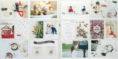 Project Life by Stampin' Up! Hello December collection.  Perfect for documenting your holidays. By Stephanie Bryan