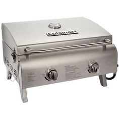 Cuisinart - Gas Grill - Stainless steel (Silver)