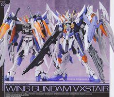 GUNDAM GUY: HG 1/144 Wing Gundam Vxstair - Customized Build
