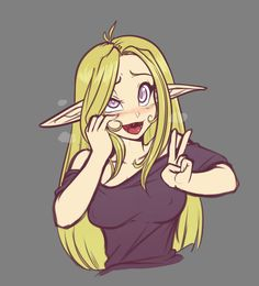 Stream Doodle - Nonon by ScorpDK on DeviantArt Anime Girl Cute, Anime Art Girl, Manga Girl, Anime Henti, Kawaii Anime, Anime Fantasy, Fantasy Girl, Fantasy Characters, Anime Characters