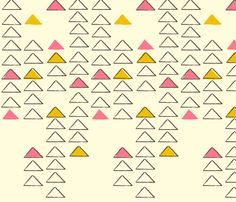 geometry fabric by fable_design on Spoonflower - custom fabric