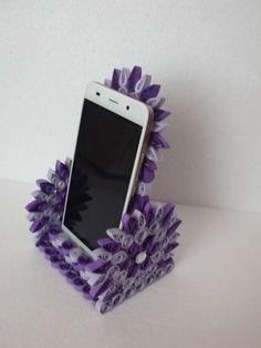 Stojánek na mobil ♥ quilling