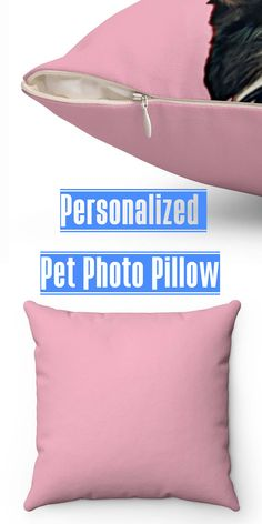 This Personalized Dog throw pillow will surely warm up any room. with a wide variety of cute background colors that you can choose from. If you're looking for a unique gift for dog lovers, cat lovers, or any other type of pet lover gifts, you've come to the right spot! #pet #petlover #Personalized #gift #dog #pillow #doglover #surprise #trending