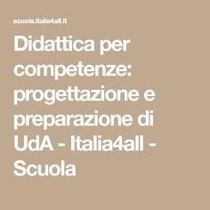 Didattica per competenze: progettazione e preparazione di UdA - Italia4all - Scuola 3, Math Equations