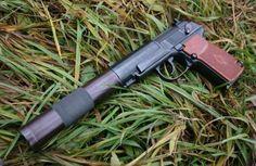 Russian PB silenced 9mm pistol