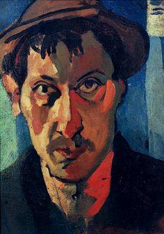 Andre Derain Self-portrait with hat 1905