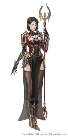 ArtStation - project jee wook Choi (c juk) Female Character Concept, Fantasy Character Design, Female Character Design, Character Design Inspiration, Character Art, Fantasy Female Warrior, Fantasy Armor, Fantasy Women, Fantasy Girl