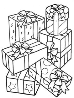 de Navidad para colorear Regalos de para colorearRegalos de para colorear Christmas coloring pages G is for the Christmas gifts promising some fun from Bronners CHRIST. Christmas Present Coloring Pages, Christmas Coloring Sheets, Printable Christmas Coloring Pages, Christmas Colors, Christmas Art, Christmas Projects, Christmas Gifts, Christmas Clipart, Birthday Coloring Pages