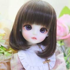 #linachouchou #macaron #linachouchoumacaron #do나슈슈마카롱 #인형 #구체관절인형 #취미 #돌스타그램 Beautiful Barbie Dolls, Pretty Dolls, Human Doll, Cute Baby Wallpaper, Sad Anime Girl, Cute Baby Dolls, Cute Cartoon Girl, Chibi Girl, Anime Dolls