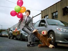 I will save the teddy bear!