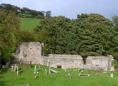 The Mysterious Old Layde Church, north Antrim Coast, Ireland