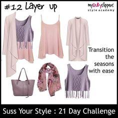 21 day challenge.  Day 12 layers  #colours #colourful #dresswithoutstress #dresstoimpress #dressforsuccess #empower #fabover40 #fabover50 #lookgoodfeelgood #midlifecrisis #niftyfifty #ootd #personalbranding #selfconfidence #selfimage #style #styleacademy #stylechallenge #styleguide #stylesavvy #styletips #womeninbiz #womenswisdom