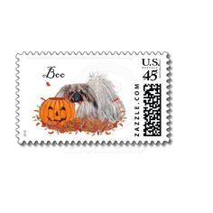 Pekingese Halloween Postage from Zazzle.com