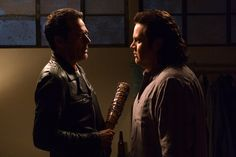 """I am utterly, completely, stone-cold Negan.""--Eugene"