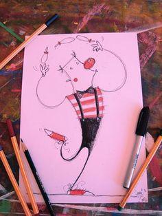 """""""Deixa eu brincar de ser feliz, deixa eu pintar o meu nariz. """" Marcelo Camelo"""