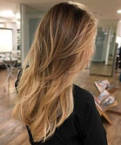 2018 long layered hairstyles