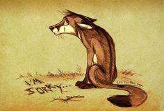 by Culpeo-Fox on DeviantArt Art And Illustration, Fuchs Illustration, Illustrations, Art Beat, Cute Drawlings, Cute Art, Fox Drawing, Fabulous Fox, Fox Art