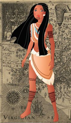 Historic Pocahontas 1 by Willemijn1991.deviantart.com on @DeviantArt