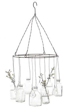 Wire Hanging Vase | Wayfair
