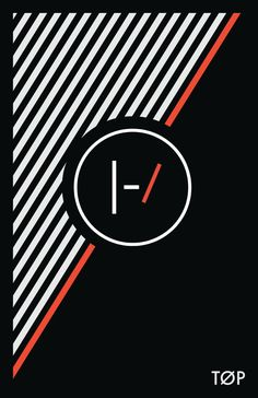 Twenty One Pilots, Twenty-One-Pilots, 21 Pilots, Skeleton Clique, Blurryface, Music, Art, Poster, Alternative   Minimal Twenty One Pilots poster-