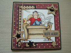 Berits Hobbyblogg: Herrekort