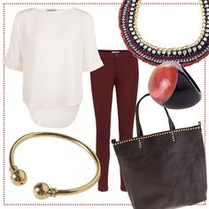 red trendy essential #look #bevonboch