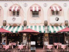 Espanola Way in Miami | Cultural Chromatics