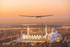 Solar Impulse Foundation: 1000 profitable solutions for the environment Renewable Energy Companies, Bright Side Of Life, Concorde, Nature Reserve, Travel And Leisure, Capital City, Abu Dhabi, Solar Power, Solar Energy