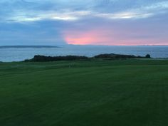 Sunrise on the ocean | Victoria Golf Club, Canada #twitterphotos #yyjphoto #golfcourse #westcoast #victoriagolfclub