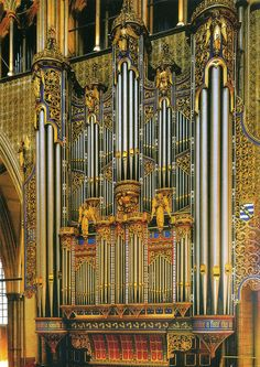Organ Case, Westminster Abbey by ichabodhides, via Flickr