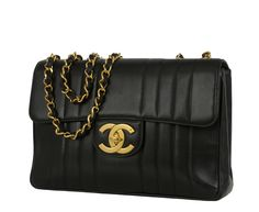 Authentic vintage Chanel from Resurrection Vintage CHANEL-VERTICAL-QUIL#2661E2