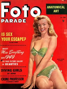 M M THROUGH MAGAZINE COVERS 6 :  It's Willinger yet again for the cover shot. Inside, ''Meet Marilyn Monroe...And a New Picture Magazine,'' a piece that celebrates this launch issue, with beach
