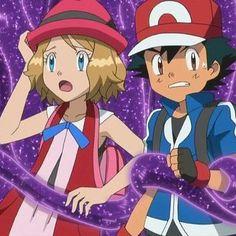 James-San (ジェームズ) on Pokemon Ash And Serena, Ash Pokemon, Pokemon Ships, Princesa Peach, Ashes Love, Micro Lego, Pokemon Eeveelutions, Ash Ketchum, Pokemon Pictures