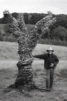 The amazing flowing stonework of Michael Eckerman