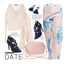 Smokin' Hot: Summer Date Night by beebeely-look on Polyvore featuring polyvore, fashion, style, TFNC, Charlotte Russe, Urban Decay, clothing, chic, twinkledeals, summerdatenight and MyPowerLook