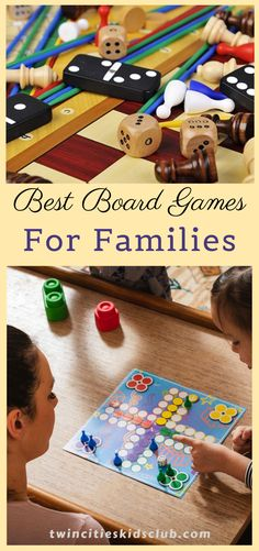 Twin Cities Kids Club Blogs: Best Board Games For Families - This game is relatively new, so if you haven't heard of it, that's why. Sequence is a strategy game that is challenging for adults and easy for children. Another perk of the card-based game is that you can play it individually or in teams. Sequence is not recommended for ages six and below, but some reviews claim that younger children enjoyed playing with an adult. | kids | Games | Fun Games | Game Day | Indoor Games Indoor Games, Indoor Activities, Infant Activities, Fun Board Games, Fun Games For Kids, Crafts For Kids, Children Toys, Children And Family, Activities For 2 Year Olds