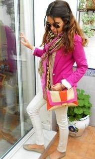 Rustic Beauty - I need a pink blazer!