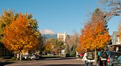 Since 1874, CC students have bustled to and from class in the foreground of the Rocky Mountain foothills.