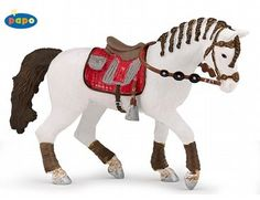 The Trendy Rider Horse from the Papo Equestrian World collection - Discounts on all Papo Toys at Wonderland Models.    One of our favourite models in the Papo Horses and Stables range is the Papo Trendy Rider Horse.    Papo manufacture wonderful, amazingly accurate models of all sorts of toy figures, particularly horses and riders including this model of the Trendy Rider Horse which can be complemented by any of the items in the Equestrian World range.