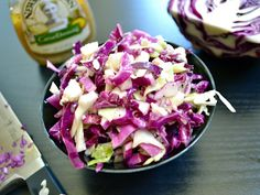 Slaw with feta