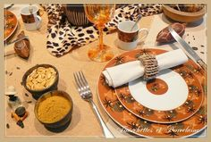 "Fourchettes et Porcelaine: Table ""AFRICA"""