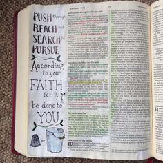Measuring Faith. Draw Close Blog. Matthew 9. Mustard seed. Bible art, Bible Journal, journaling, study, devotion.